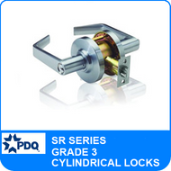 PDQ SR Series Cylindrical Lock (Lever) - Grade 3