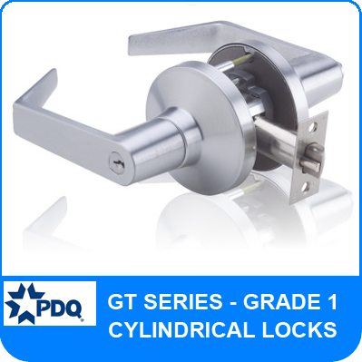 PDQ GT Series Cylindrical Lock - Grade 1