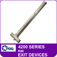 Rim Exit Devices | PDQ 4200 Series