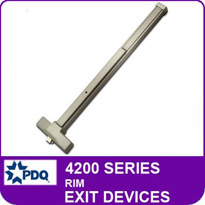 Rim Exit Devices | PDQ 4200 Series
