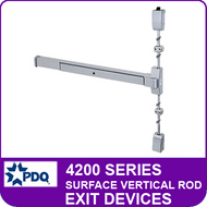 Surface Vertical Rod Exit Devices | PDQ 4200 Series