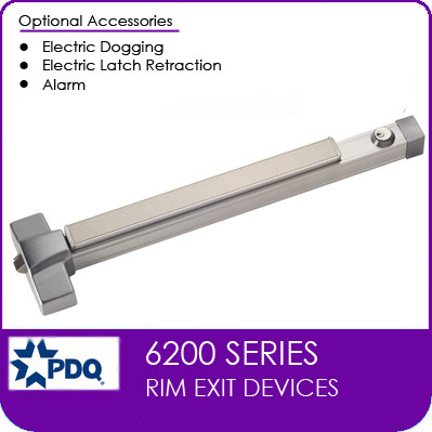Commercial Rim Exit Devices | Grade 1 (GR1) | PDQ 6200 Series