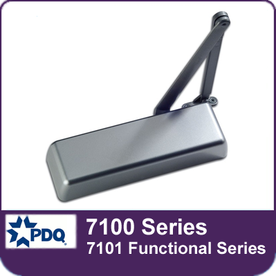 PDQ 7100 Series Door Closers (7101 Functional Series)