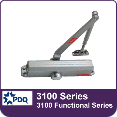 PDQ 3100 Series Door Closer (3100 Functional Series)