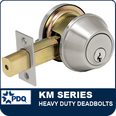 Heavy Duty Deadbolts | PDQ KM Series