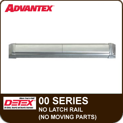 Advantex 00 Series No Latch Rail (No Moving Parts)