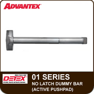 Advantex 01 Series No Latch Dummy Bar (Active Pushpad)