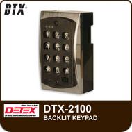 DTX-2100 - Stand-Alone Backlit Keypads