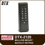 DTX-2120 - Stand-Alone Keypads, Mullion Mount Backlit Keypad