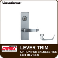 Lever Trim Option for Detex ValueSeries Exit Devices