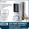 Simplex EE1021-26D Two Sided Mechanical Pushbutton Lock With Key Override - Satin Chrome