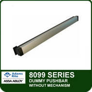 Adams Rite 8099 - Dummy Pushbar without Mechanism for Doors NOT requiring an Exit Device