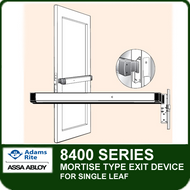 Adams Rite 8400 - Narrow Stile Mortise Exit Device for Single Leaf