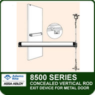 Adams Rite 8500 - Concealed Vertical Rod Exit Device for Metal Door