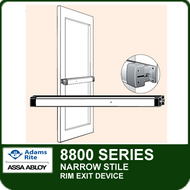 Adams Rite 8800 - Narrow Stile Rim Exit Device