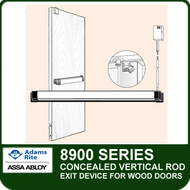 Adams Rite 8900 - Concealed Vertical Rod Exit Device for Wood Doors