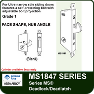 Adams Rite MS1847 - Series MS® Deadlock/Deadlatch