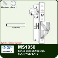 Adams Rite MS1950 - Series MS® Deadlock - Flat Faceplate