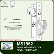 Adams Rite MS1952 - Series MS® Deadlock - Bevel Faceplate