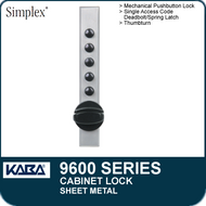 Simplex 9600 Series - Mechanical Pushbutton Cabinet Lock