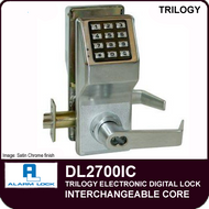 Alarm Lock Trilogy DL2700IC - Interchangeable Core