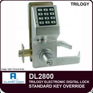 Alarm Lock Trilogy DL2800 - Standard Key Override