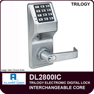Alarm Lock Trilogy DL2800IC - Interchangeable Core