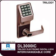 Alarm Lock Trilogy DL3000IC - Interchangeable Core