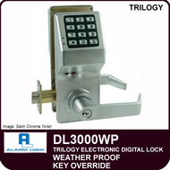 Alarm Lock Trilogy DL3000WP - Weather Proof Key Override