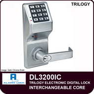 Alarm Lock Trilogy DL3200IC - Interchangeable Core