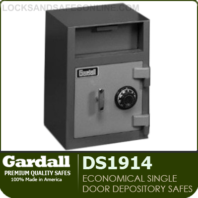 Economical Single Door Depository Safes | Gardall DS1914-G