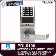 Alarm Lock Trilogy PDL6100 - NETWORX PROXMITY DIGITAL LOCKS - Standard Key Override with Straight Lever