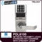 Alarm Lock Trilogy PDL6100 - NETWORX PROXMITY DIGITAL LOCKS - Standard Key Override with Straight Lever