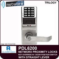 Alarm Lock Trilogy PDL6200 - NETWORX PROXMITY DIGITAL LOCKS - Standard Key Override with Door Position Switch
