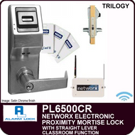 Alarm Lock Trilogy PL6500CR - NETWORX ELECTRONIC PROXIMITY DIGITAL MORTISE LOCKS - Straight Lever Classroom Function