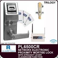 Alarm Lock Trilogy PL6500CR - NETWORX ELECTRONIC PROXIMITY DIGITAL MORTISE LOCKS - Straight Lever Classroom Function
