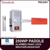 Alarm Lock 250WP - WEATHER-RESISTANT ALARMED PANIC LOCK