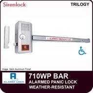 WEATHER-RESISTANT ALARMED PANIC LOCKSET | Alarm Lock 710WP