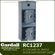 Double Door Rotary Top Load Depository Safes | Gardall RC1237