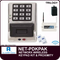 Alarm Lock Trilogy NET-PDKPAK - NETWORX WIRELESS KEYPADS AND NETPANEL - Digital & HID wireless wall mounted keypad kit