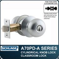 Schlage A70PD - Standard Duty Commercial Classroom Knob Locks