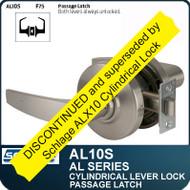 Schlage AL10S - Standard Duty Commercial Passage Lever Set