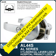 Schlage AL44S - Standard Duty Commercial Privacy/Hospital Lever Lock