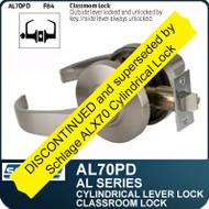 Schlage AL70PD - Standard Duty Commercial Classroom Lever Lock