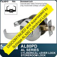 Schlage AL80PD - Standard Duty Commercial Storeroom Lever Lock