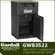 Heavy Duty Commercial Depository Safes | Cash Register Tray | Gardall GWB3522 | WIide Body Safes