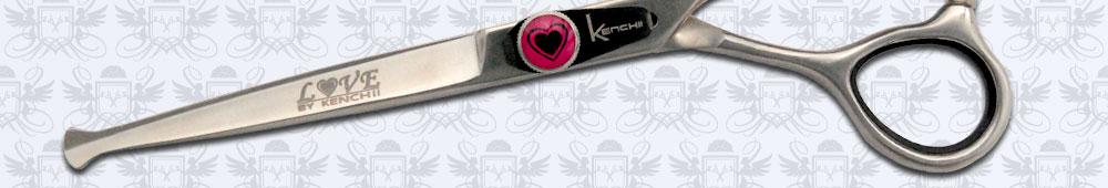 Balltip scissors for safe triming around sensitive areas.