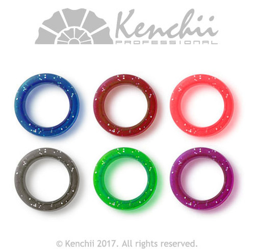 Thick finger inserts for shears. All colors.