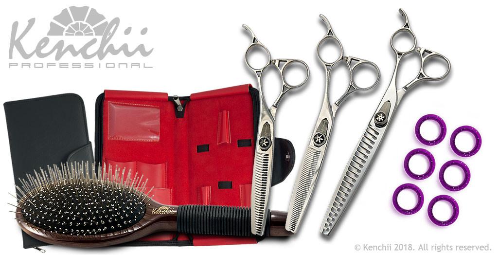 Shinobi™ Complete Dog Grooming Thinners Kit