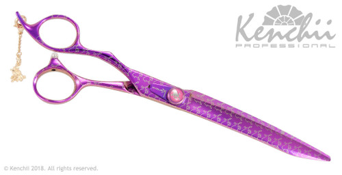 Kenchii Pink Poodle™ lefty 8-inch shear.